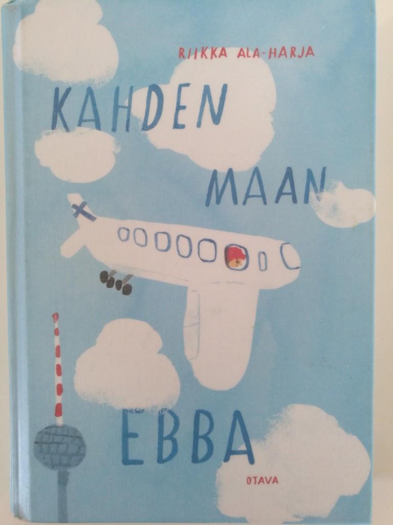 Kuva kirja Kahden maan Ebba kannesta.